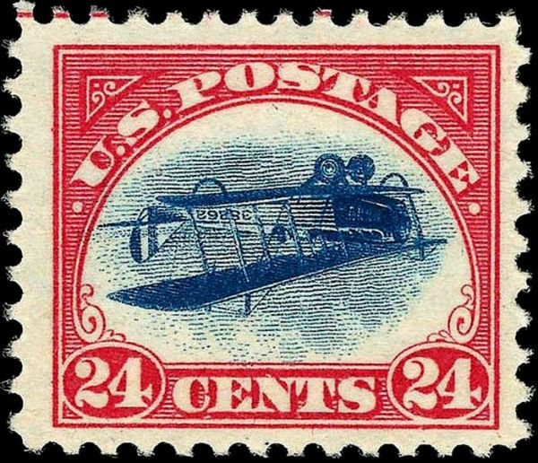 Curtis Jenny Inverted 1918 Stamp