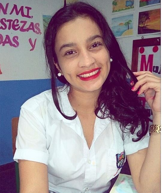 Luisa Fernanda Buitrago at school