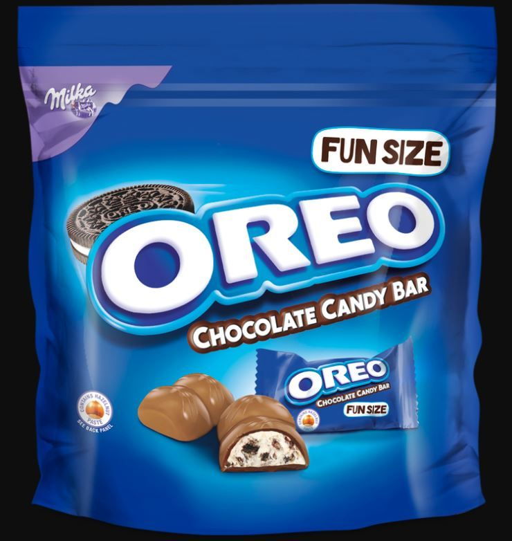 Oreo fun sized chocolate candy bar
