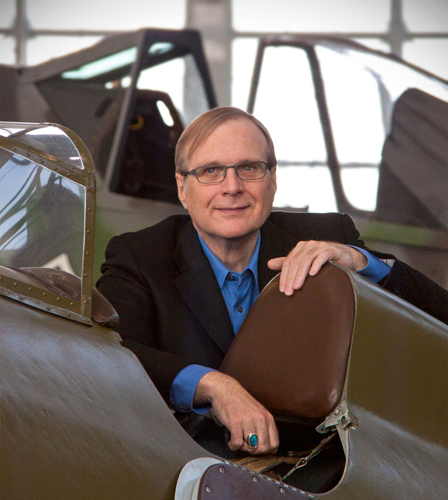 Paul Allen at Flying Heritage Collection
