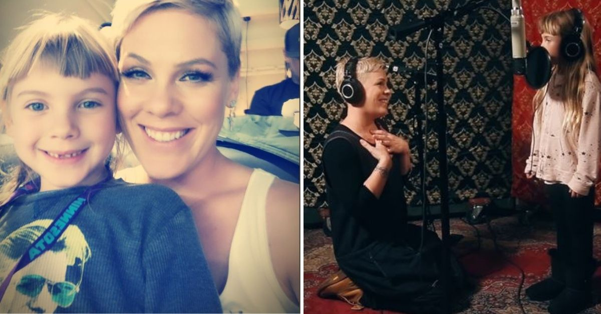 Pink and Daughter Willow Singing Together Is the Greatest Show Today