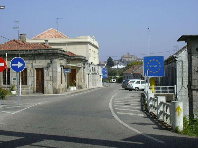 Portuguese border.