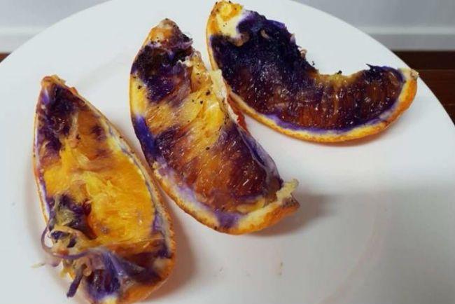 Purple Oranges
