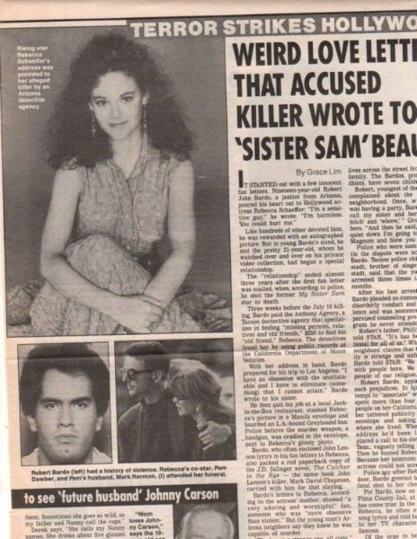 "Rebecca Schaeffer Was Hollywood's ""It Girl"" - But Her Tragic Murder Changed  America"