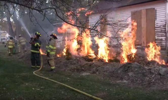 Roach House Fire