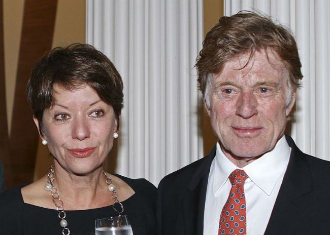 Robert Redford wife