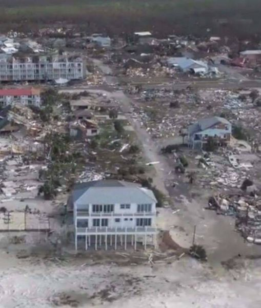 The Sand Palace Hurricane Michael