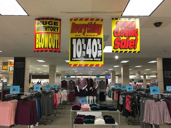 Sears Closing Sales