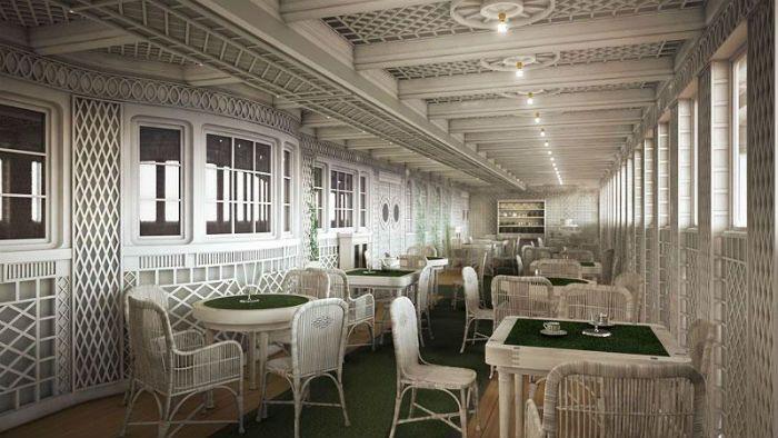 Titanic II Cafe