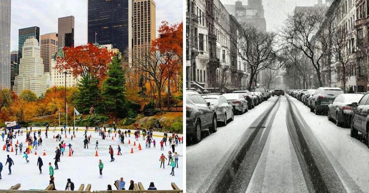 New York City winter