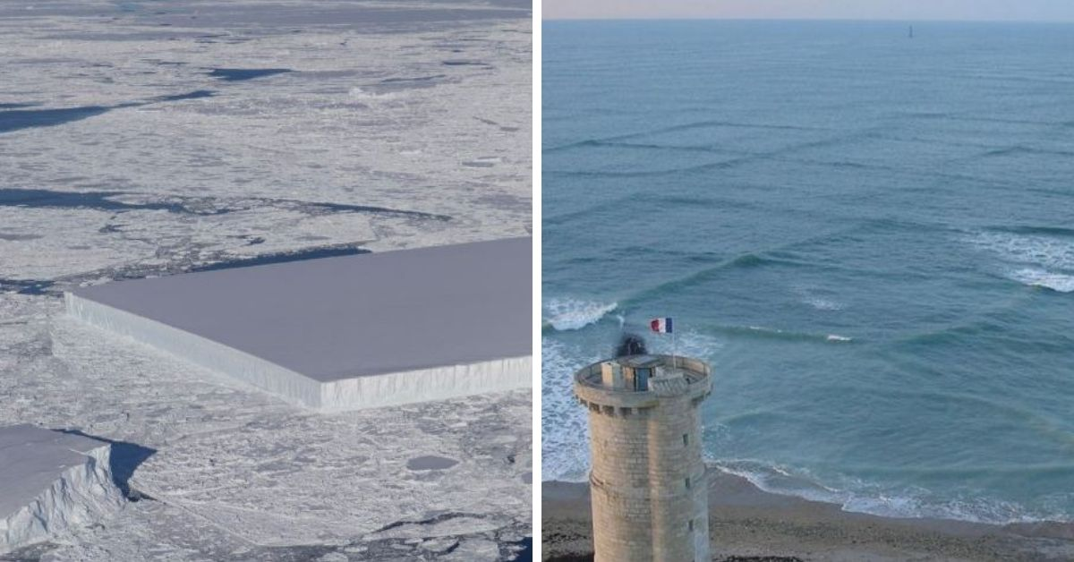 square waves and ice