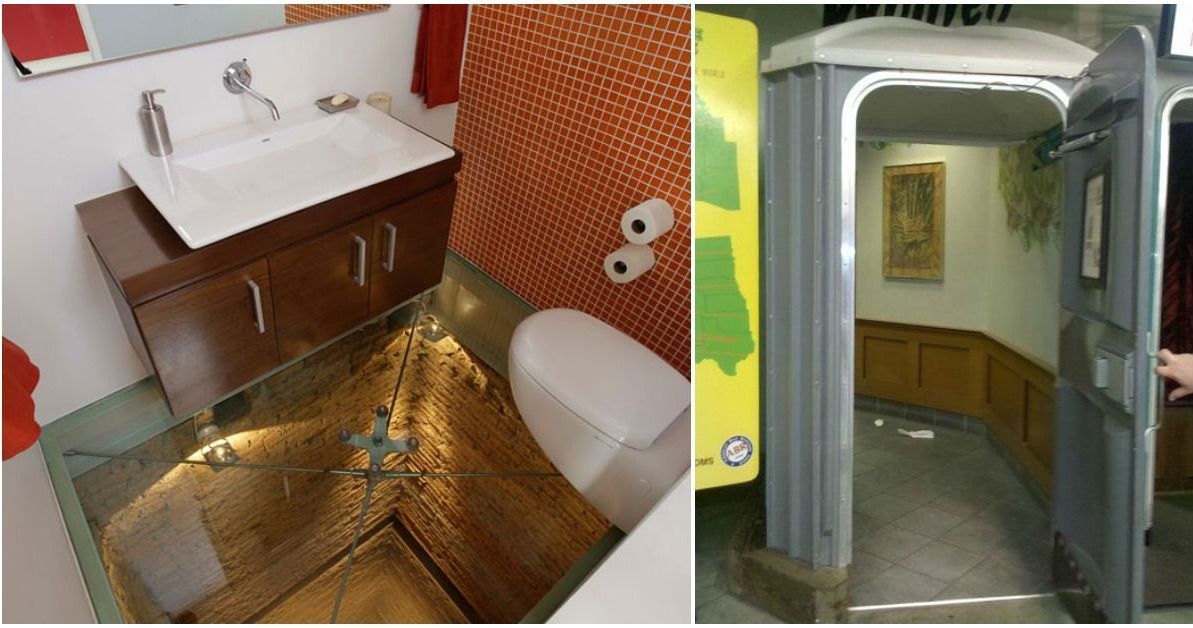 These 12 Unusual Bathrooms Are Worth A Visit