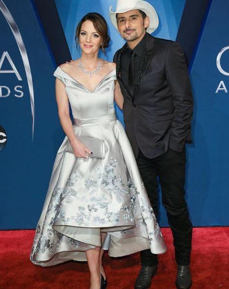 Brad and Kimberly at the CMA Awards