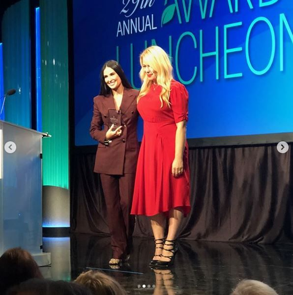 Demi Moore at the Peggy Albrecht Friendly House's 29th Annual Awards Luncheon