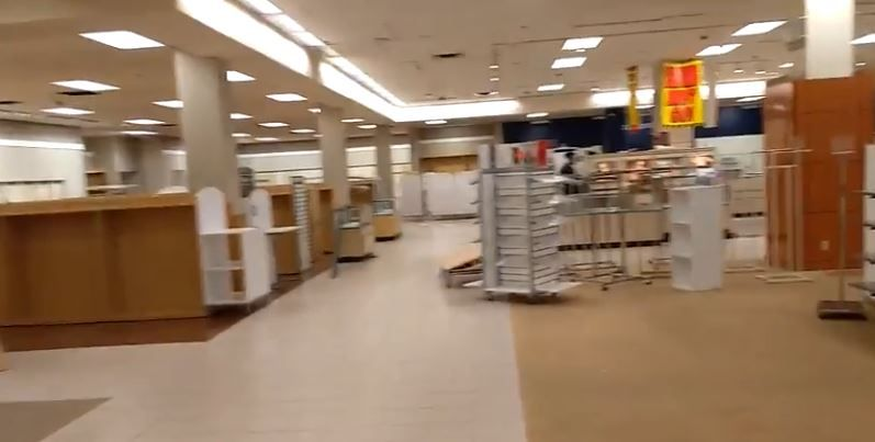 An empty Sears