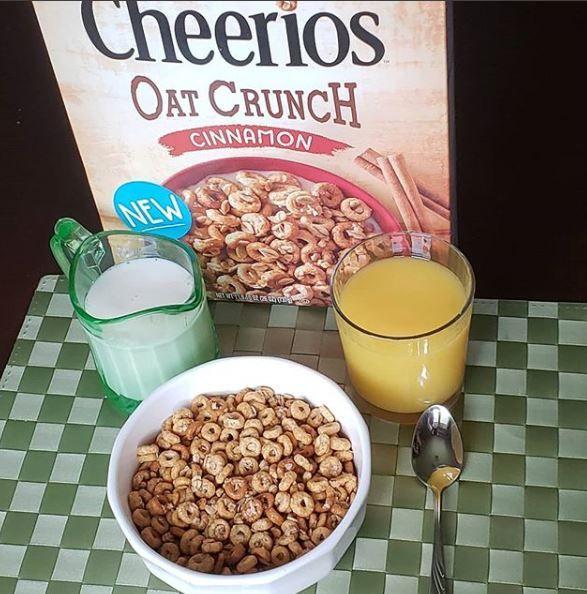 cheerios oat crunch