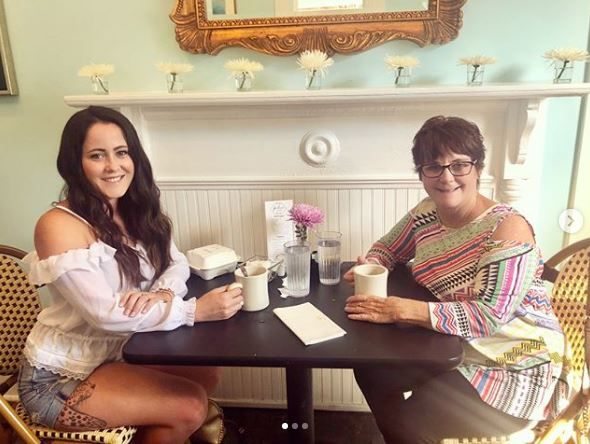 Jenelle and her mother Barbara