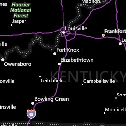 Kentucky Weather Map