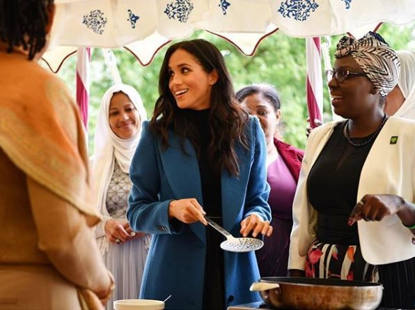 Meghan Markle at the cook book launch