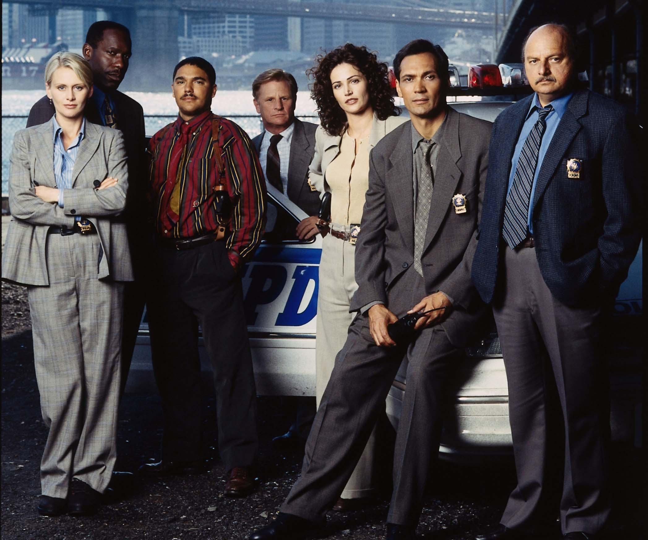 Cast of NYPD Blue