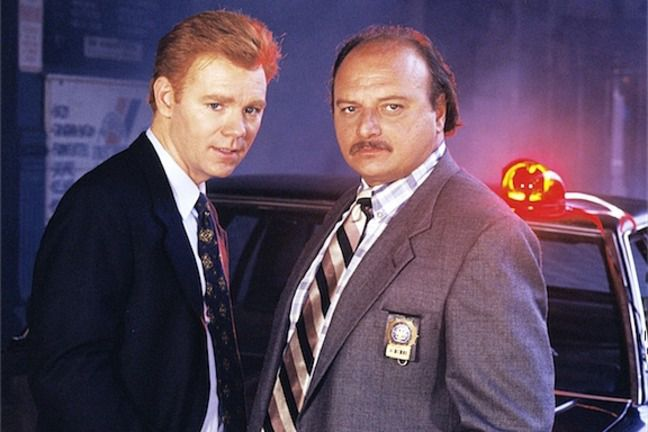 David Caruso and Dennis Franz