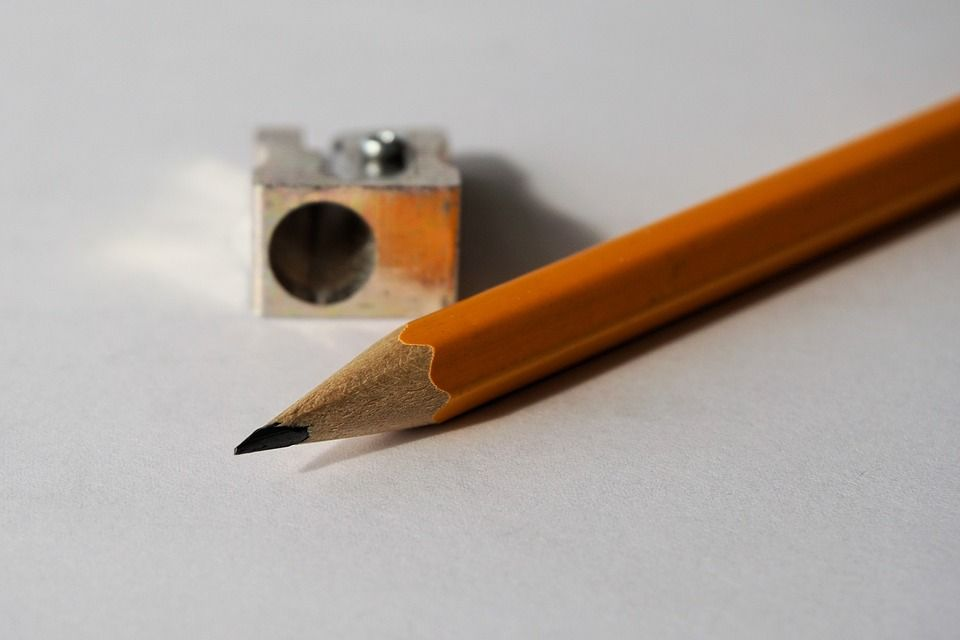 sharpening pencil