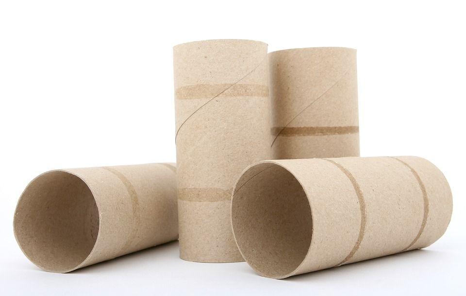 empty toilet roll