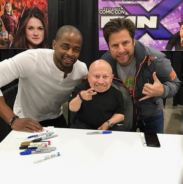 Verne Troyer at Comic Con