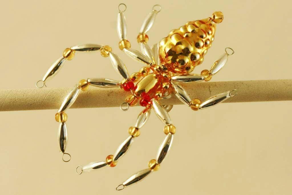 Glass bead spider