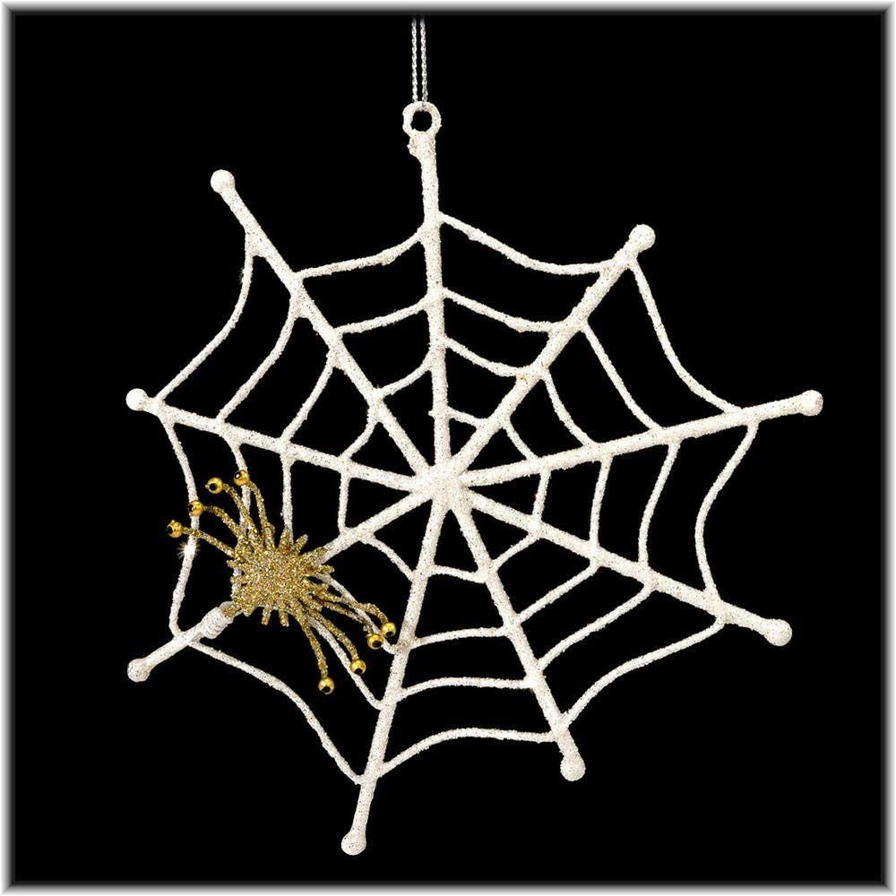 Spider on it's web ornament