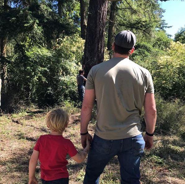 Chris Pratt and Jack