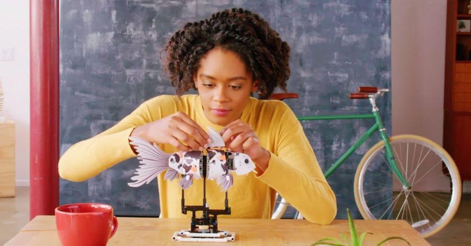 Lego forma kits assembly
