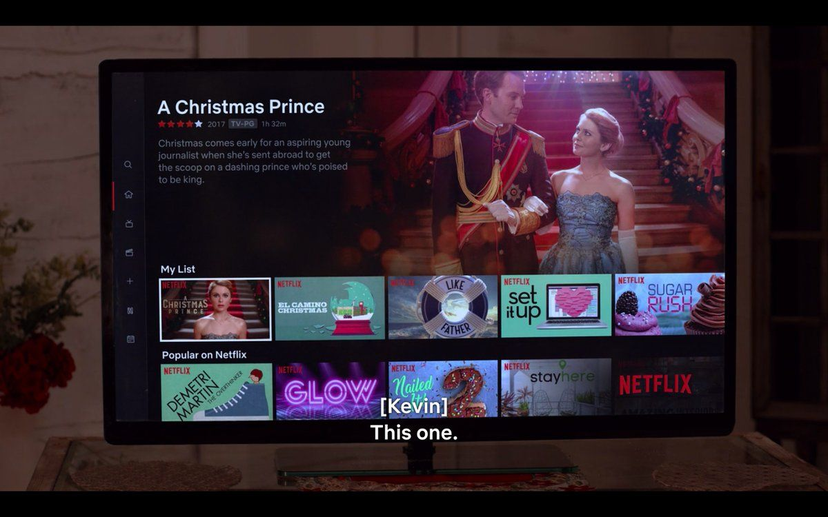 A christmas prince princess switch