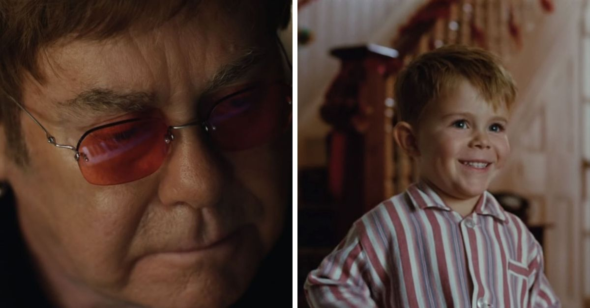 Elton John sings 'Your Song' in John Lewis Christmas advert