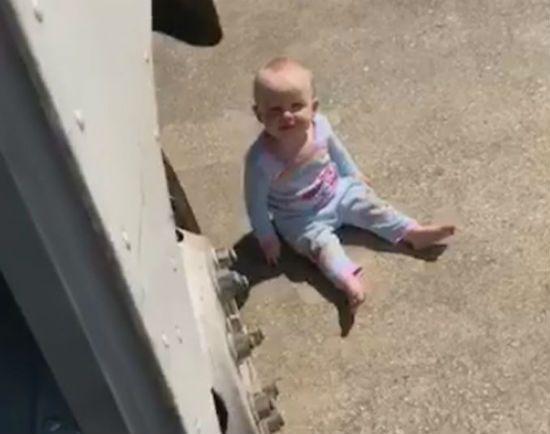 Baby FedEx Driver