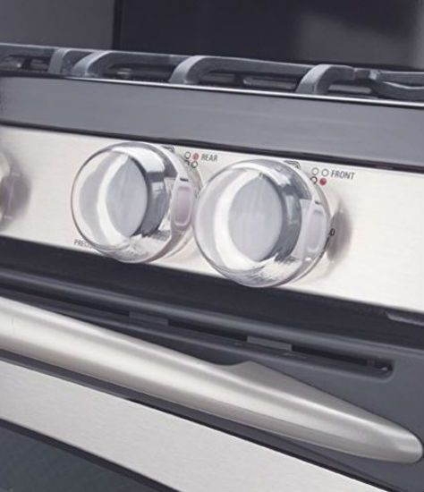 Stove safety knob
