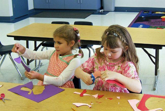 Kingergarten girls