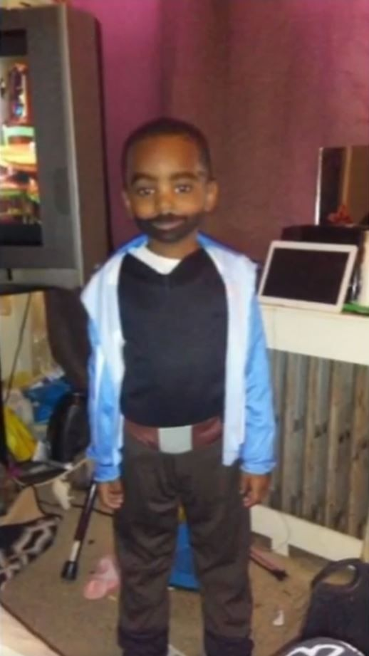 Mael before the shooting on halloween