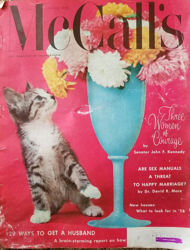 McCall's cover 1958