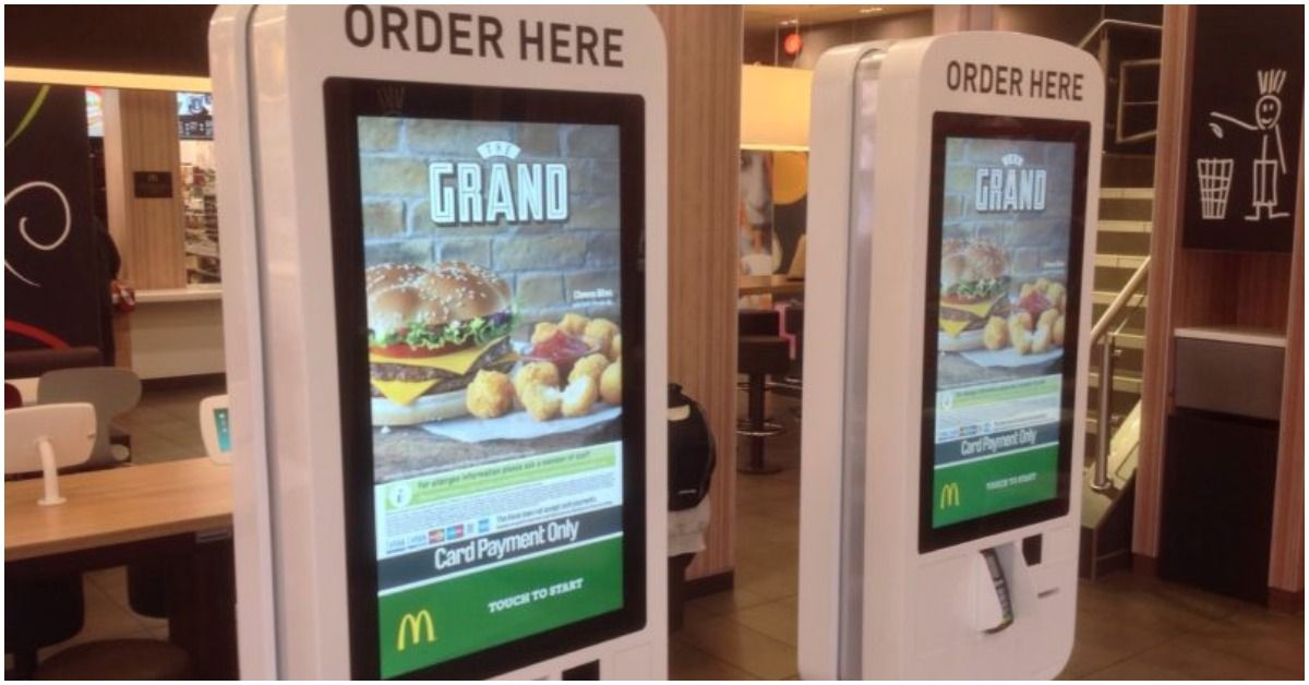 Traces of poo found on every McDonald's touchscreen tested