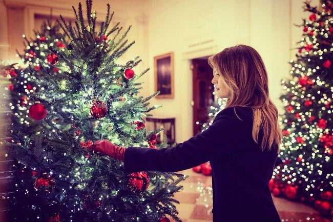 Melania Trump Christmas