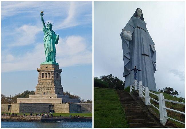 Statue of Liberty Comparison