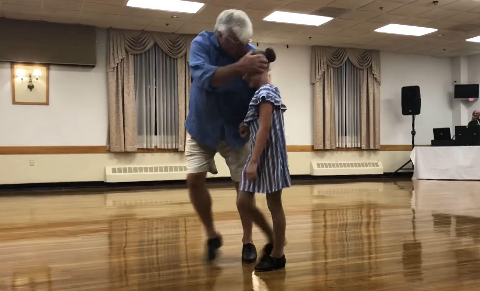 Grandpa tap dance
