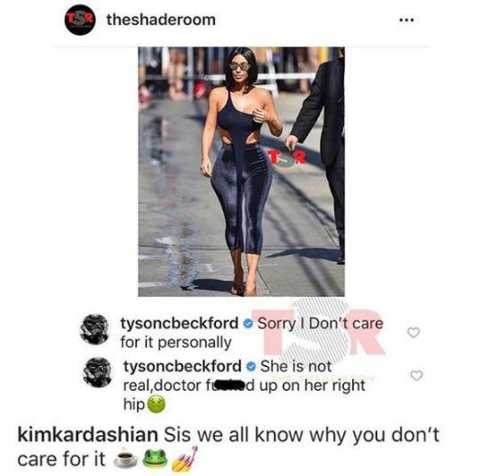 Kim kardashian Tyson Beckford