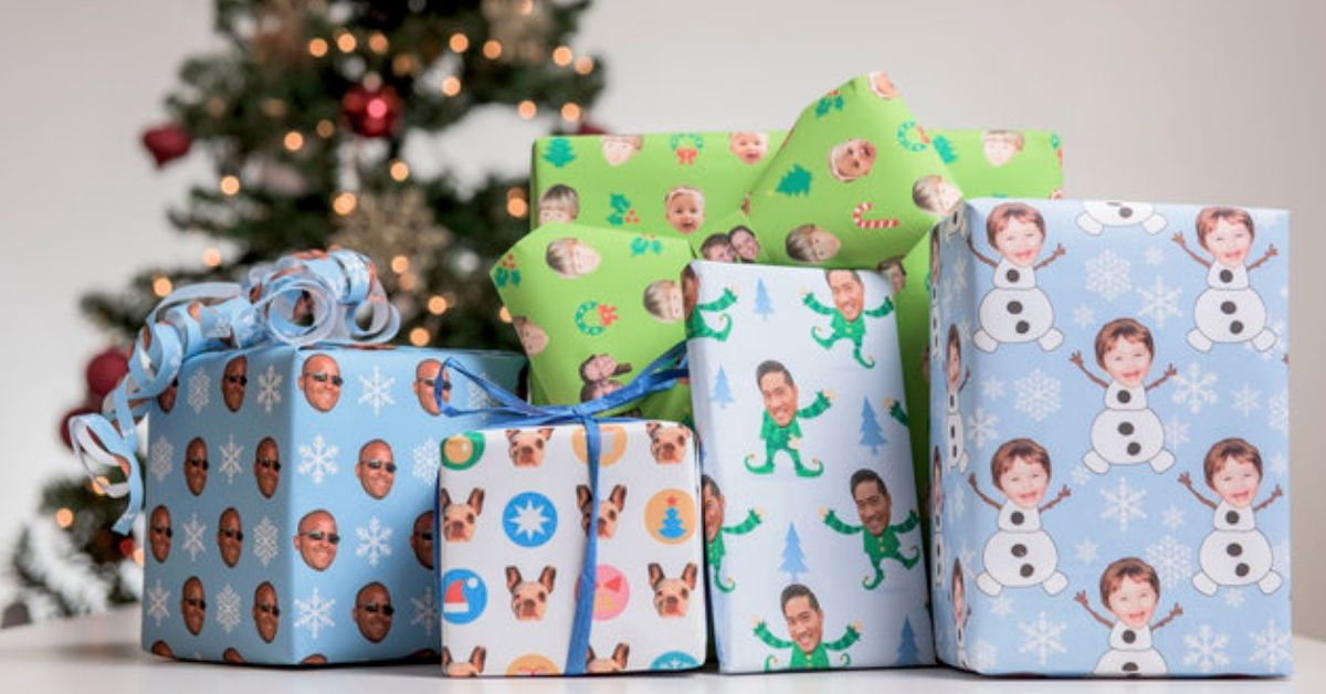 Gift Wrap My Face