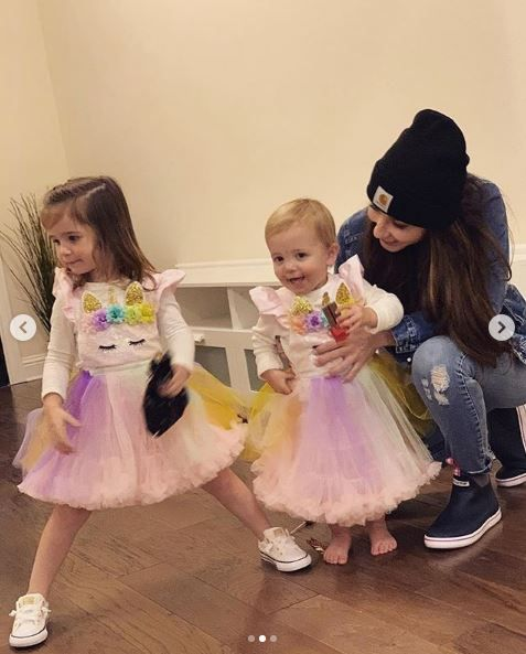 Bristol Palin and her two daughters