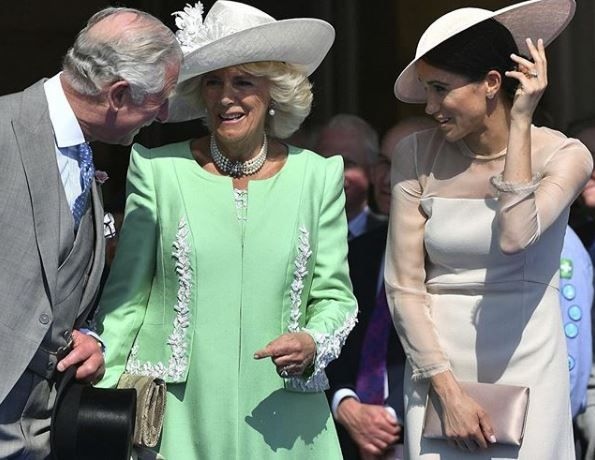 Prince Charles, Camilla Parker Bowles and Meghan Markle