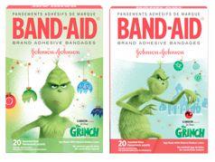 Grinch Bandaids