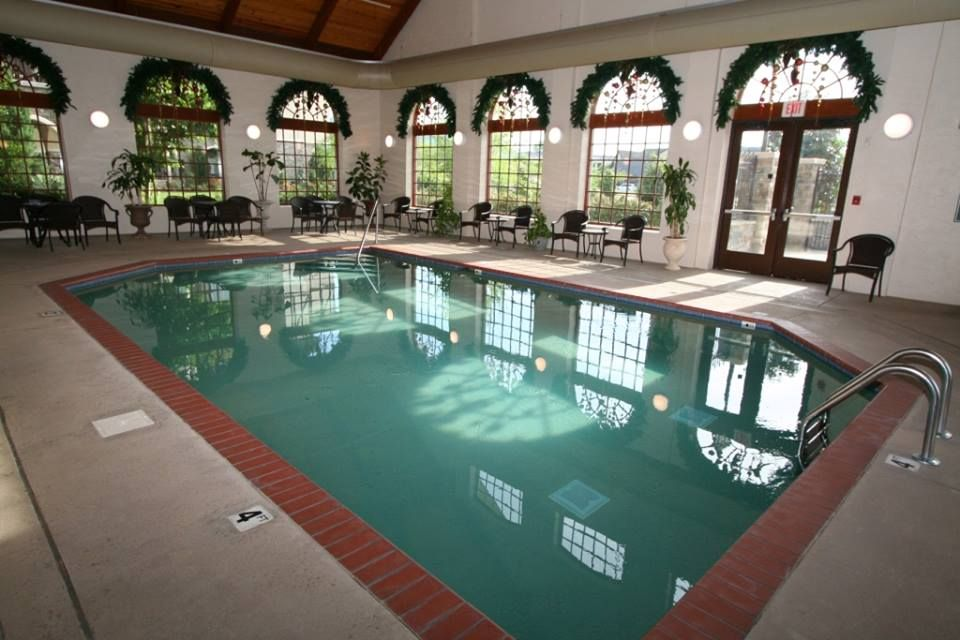 Indoor pool at The Inn at Christmas Place