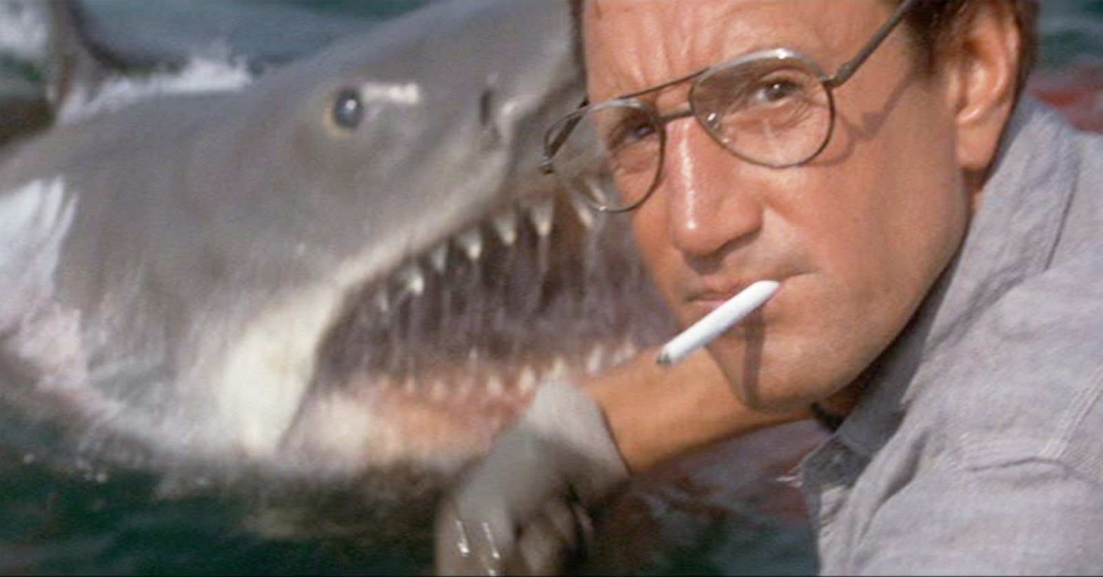 """Roy Scheider as """"Chief Martin Brody"""" telling the crew they're gonna need a bigger boat in 'Jaws'"""